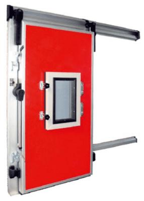 Холодильные откатные двери для камер РГС