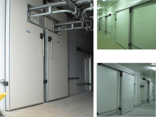 Холодильные откатные двери RUTS