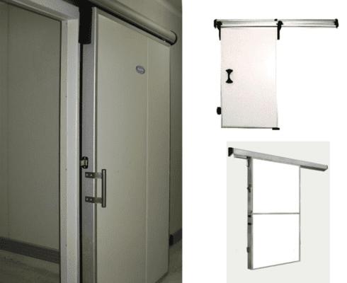 Двери технические откатные РУТС
