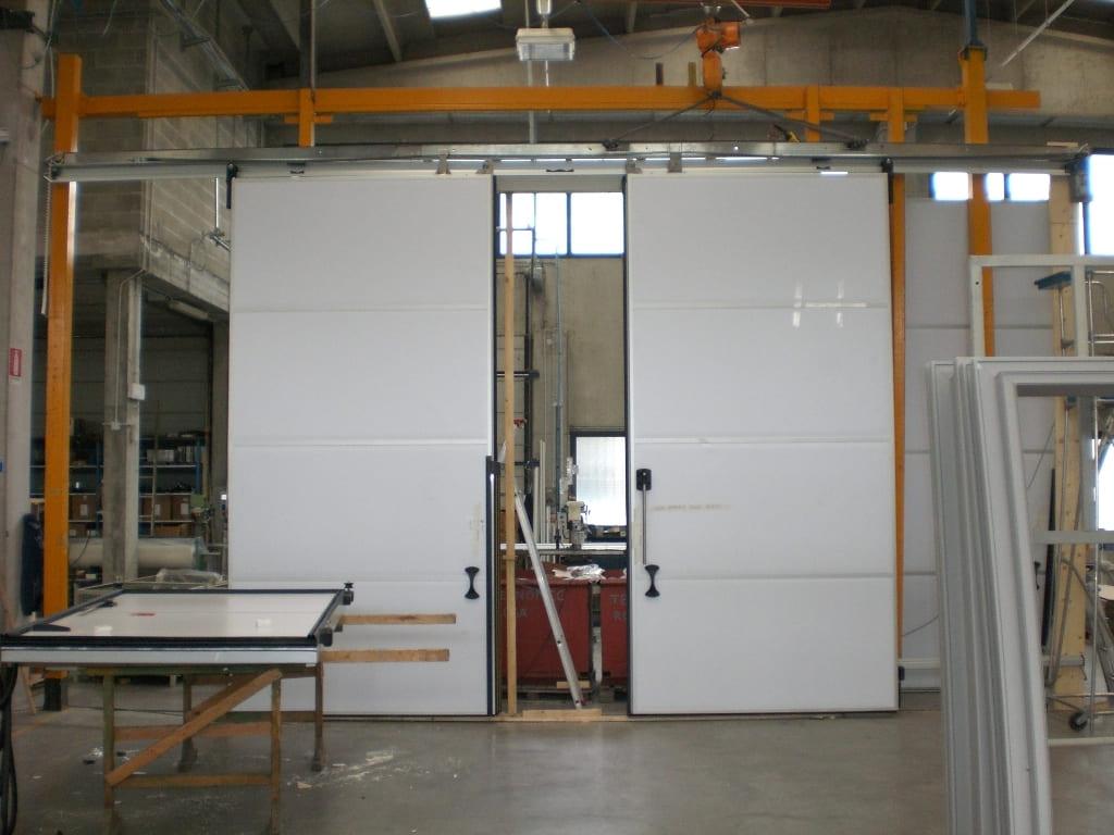 технические откатные двери рутс