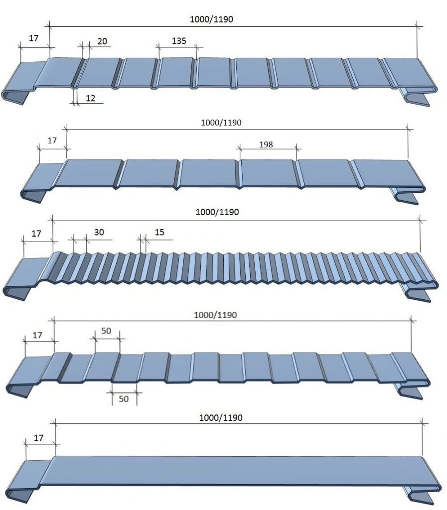 Профилирование sandvich panels